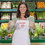 Paloma, aspirante a 'MasterChef 5', posa mientras elabora su plato