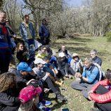 Jesús Calleja habla con los periodistas en la presentación de la nueva temporada de 'Planeta Calleja'