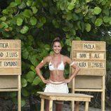 Lara Álvarez dispuesta a explicar la primera prueba a los concursantes de 'Supervivientes 2017'