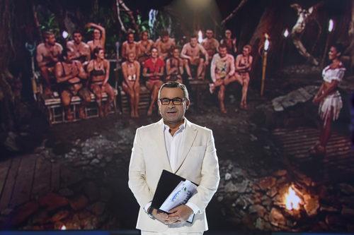 Jorge Javier Vázquez conecta con la Palapa en la primera gala de 'Supervivientes 2017'
