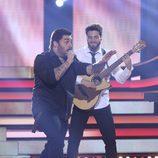 David Moreno es Melendi en la sexta gala de 'Tu cara no me suena todavía'