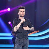 Ricky Mata hace su versión de Maroon 5 en la sexta gala de 'Tu cara no me suena todavía'