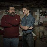Paco Tous y Jaime Lorente en 'La Casa de Papel'