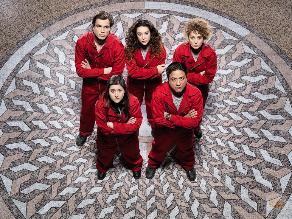 Los rehenes de 'La Casa de Papel', un thriller de Antena 3