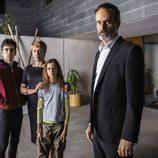 La familia Elias en las fotos promocionales de 'Sé quién eres'