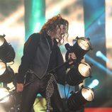 River Soul interpreta a Enrique Bumbury en la séptima gala de 'Tu cara no me suena todavía'