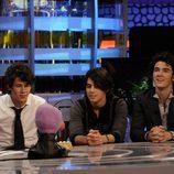 Los Jonas Brothers en 'El Hormiguero' por segunda vez