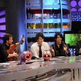 Los Jonas Brothers visitan por primera vez 'El Hormiguero'