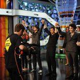 Los Jonas Brothers se divierten en su visita a 'El Hormiguero'