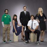 El reparto de la serie 'Chuck'