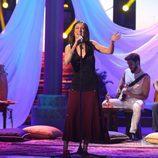 Paula Domínguez es Chambao en la séptima gala de 'Tu cara no me suena todavía'