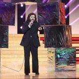 Manu Rodríguez es Camilo Sexto en la séptima gala de 'Tu cara no me suena todavía'