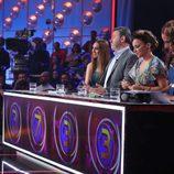 El jurado de 'Tu cara no me suena todavía' en la séptima gala del talent show