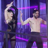 Georgia Stewart es Lady Gaga en la séptima gala de 'Tu cara no me suena todavía'