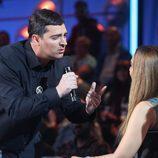 David Moreno es Eros Ramazzotti en la séptima gala de 'Tu cara no me suena todavía'