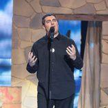 David Moreno interpreta a Eros Ramazzotti en la séptima gala de 'Tu cara no me suena todavía'