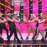 Los bailarines del programa en la séptima gala  de 'Tu cara no me suena todavía'