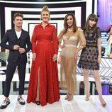 Presentadora y estilistas en 'Cámbiame Challenge Bodas'