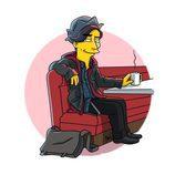 Jughead, en la versión simpsonizada de 'Riverdale'