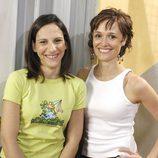 Malena Alterio y Laura Pamplona, en 'Aquí no hay quien viva'