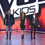 Los coaches en la final de 'La Voz Kids'