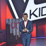 Jesús Vázquez en la final de 'La Voz Kids'