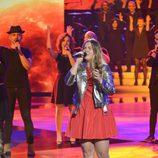 Rocío Hernández en la final de 'La Voz Kids'