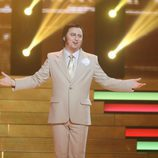 Manolo Escobar en la octava gala de 'Tu cara no me suena todavía'