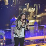 Rocío Aguilar cantando en la final de 'La Voz Kids'