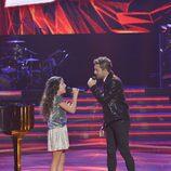 David Bisbal y Esperanza en la final de 'La Voz Kids'