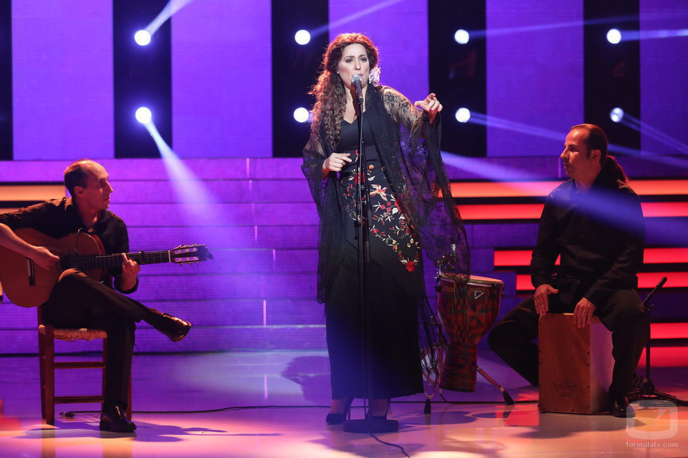 Lorena Gómez en la octava gala de Tu cara no me suena todavía'
