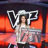 Rocío Aguilar, ganadora de 'La Voz Kids'