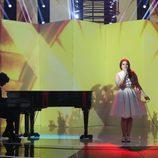 Tamara Valdever imita a Lana del Rey en la octava gala de 'Tu cara no me suena'