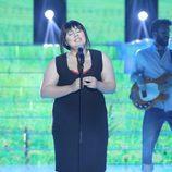 Vicky Armas como Amaral en la octava gala de 'Tu cara no me suena todavía'
