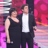 Vicky Armas y Manel Fuentes en la octava gala de 'Tu cara no me suena todavía'