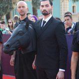 El caballo de Dihaj en la red carpet de Eurovisión 2017