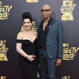 RuPaul, en la gala MTV Movie & TV Awards 2017
