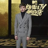 Miles Heizer, en la gala MTV Movie & TV Awards 2017
