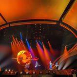El escenario de Eurovisión 2017 durante la actuación de Manel Navarro