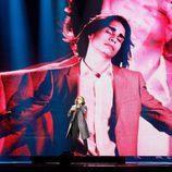 Isaiah (Australia) en la Primera Semifinal de Eurovisión 2017