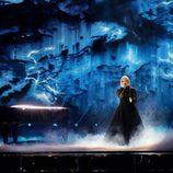 Norma John (Finlandia) en la Primera Semifinal de Eurovisión 2017