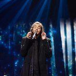 Salvador Sobral (Portugal) en la Primera Semifinal de Eurovisión 2017