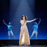 Demy (Grecia) en la Primera Semifinal de Eurovisión 2017