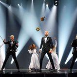 Sunstroke Project (Moldavia) en la Primera Semifinal de Eurovisión 2017