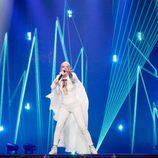 Svala (Islandia) en la Primera Semifinal de Eurovisión 2017