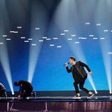 Hovig (Chipre) en la Primera Semifinal de Eurovisión 2017