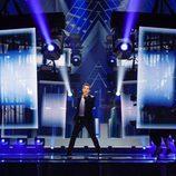 Omar Naber (Eslovenia) en la Primera Semifinal de Eurovisión 2017