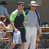 Ricky Martin y Édgar Ramírez en 'The Assassination of Gianni Versace: American Crime Story'