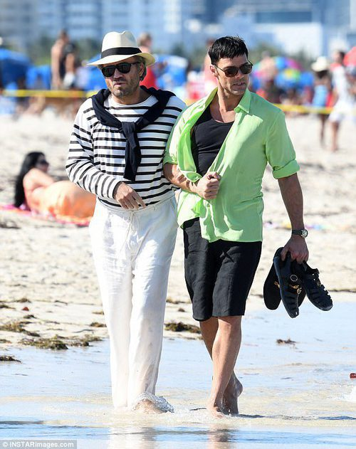 Ricky Martin y Édgar Ramírez rodando 'The Assassination of Gianni Versace: American Crime Story'