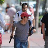 Darren Criss rodando  'The Assassination of Gianni Versace: American Crime Story'